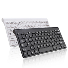 2.4G Wireless Mini Slim Chocolate Waterproofed keyboard keycap For MACBOOK,LAPTOP,TV BOX Computer PC ,Smart TV with USB dongle(China)