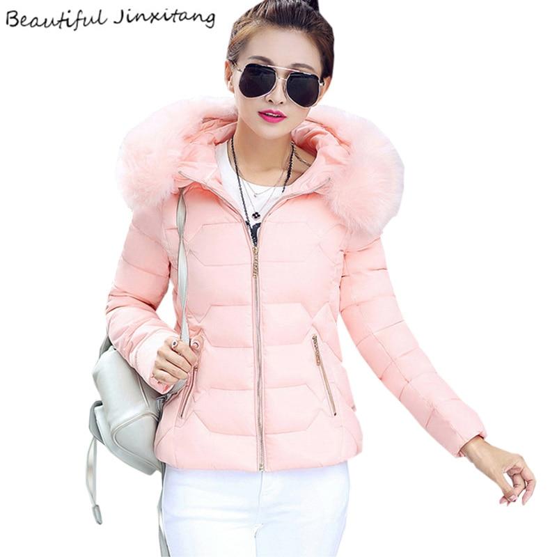 Ukraine Rushed Winter Jacket Women 2017 New Large Size Coat Female Fashion Casual Feminine Long-sleeved Hooded Coats K163 A1 Îäåæäà è àêñåññóàðû<br><br>