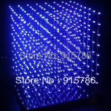 3D8 light cube (parts) Pegboard / 3D8S handmade version 5a60s2 +573 +2803 3mm round LED / CUBE8 8x8x8 3d led cube