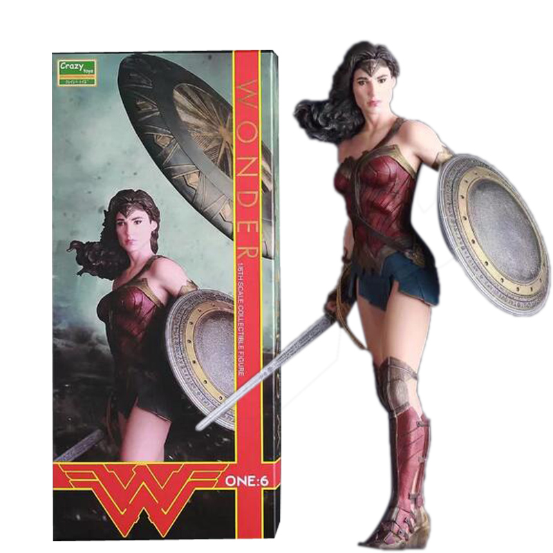 30cm Crazy Toys Wonder Woman 1/6th Scale PVC Action Figure Collectible Model Toy <br>