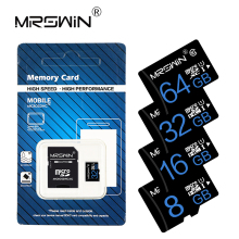 With free adapter Memory Card 8GB 16GB 32GB Micro SD Card Class 10 High Speed 64GB 128GB Cartao De Memoia 4GB C6 microsd card(China)