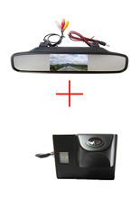 Color CCD Chip Car Rear View Camera for TOYOTA Land Cruiser LC 100 120 4500 4700 +  4.3 Inch  rearview Mirror Monitor