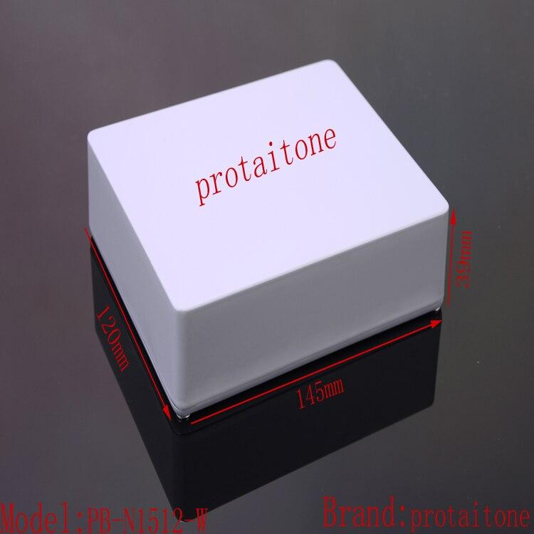 5pcs/lot PB-N1512-W Free Shipping Professional DIY Aluminum Metal EFFECT PEDAL BOX, 145 (L) x120 (W) x39 (H) mm<br>