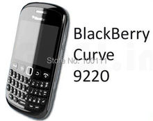 Wholesale Original Unlocked BlackBerry Curve 9220 QWERTY Keyboard WiFi Bluetooth free shipping