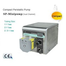 Peristaltic Pump SP-MiniPump 0.0024-190 ml/min MiniPump01 Head Single Channels 24VDC Stepper Motor OLED Screen CE Certificate