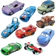 17 Styles Pixar Cars 2 Chick Hicks Mater 1:55 Scale Diecast Metal Alloy Modle Cute Toys For Children Gifts