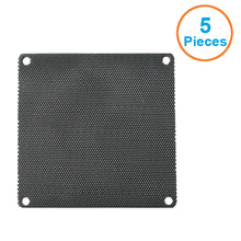 5pcs/lot 4CM/6CM/7CM/8CM/9CM/12CM/14 Computer Mesh Black PVC PC Case Fan Cooler Dust Filter Dustproof Case Cover