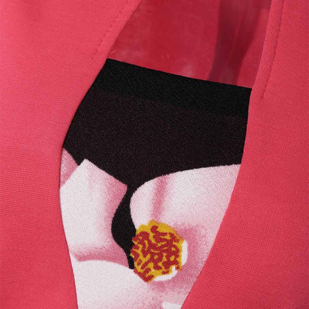 VESTLINDA Pencil Office Dress 5 Colors Plus Size Jacket Look Floral Print Women Vestidos Mujer Jurken Robe Slim Bodycon Dresses 4