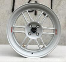 ENKEI White and Gold Color 16x7.0 4x100 Car Alloy Wheel Rims(China)