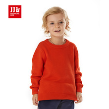 male children  cashmere cotton long sleeve basic shirt sweater 100% cotton soild color winter sweater boys sweater size 4-15y