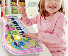 Baby music on drum flower small infants early childhood educational toy piano piano male girl 1 to 3 years old