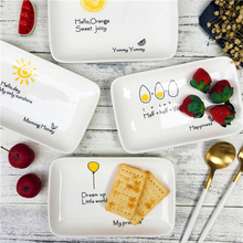 2017 Special Creative Design Ceramic Handpainted Plate Dishes Breakfast Dishes Dishes-009(China)
