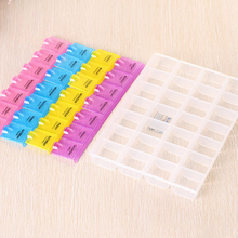 Brand New 28 Grids Weekly 7 Days Tablet Pill Box Holder Medicine Storage Organizer Case Container Medicine Kit For Daily Use