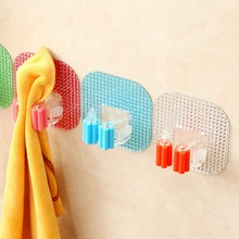 1Pc Mop and Broom Holder Wall Mounted Garden Tool Storage Tool Rack Storage