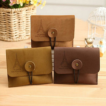 Brand New 1pc Travel Vintage Men Women Coin Credit Card Purse Bag Case Pouch Wallet Random Bag