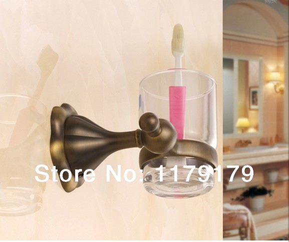 Copper antique  bathroom cup &amp; tumbler holder, chrome single  toothbrush holder  bathroom accessories 72882s<br><br>Aliexpress