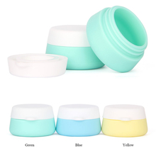Portable Refillable Bottles Travel Silicone Empty Makeup Cosmetic Box Container Jar Shampoo Lotion Sub-bottling Tube Tool