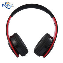 Buy Kobwa Universal Wireless+Wired Bluetooth Headphones Folding Sport Headset Stereo Music Noise Cancelling Ear Phones Laptop for $14.42 in AliExpress store