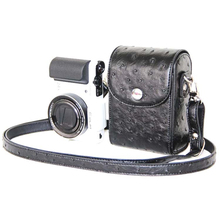 New Digital Camera Case Carry Shoulder Bag Universal Camera PU Leather Case Cover For Canon for Nikon for Sony for Casio