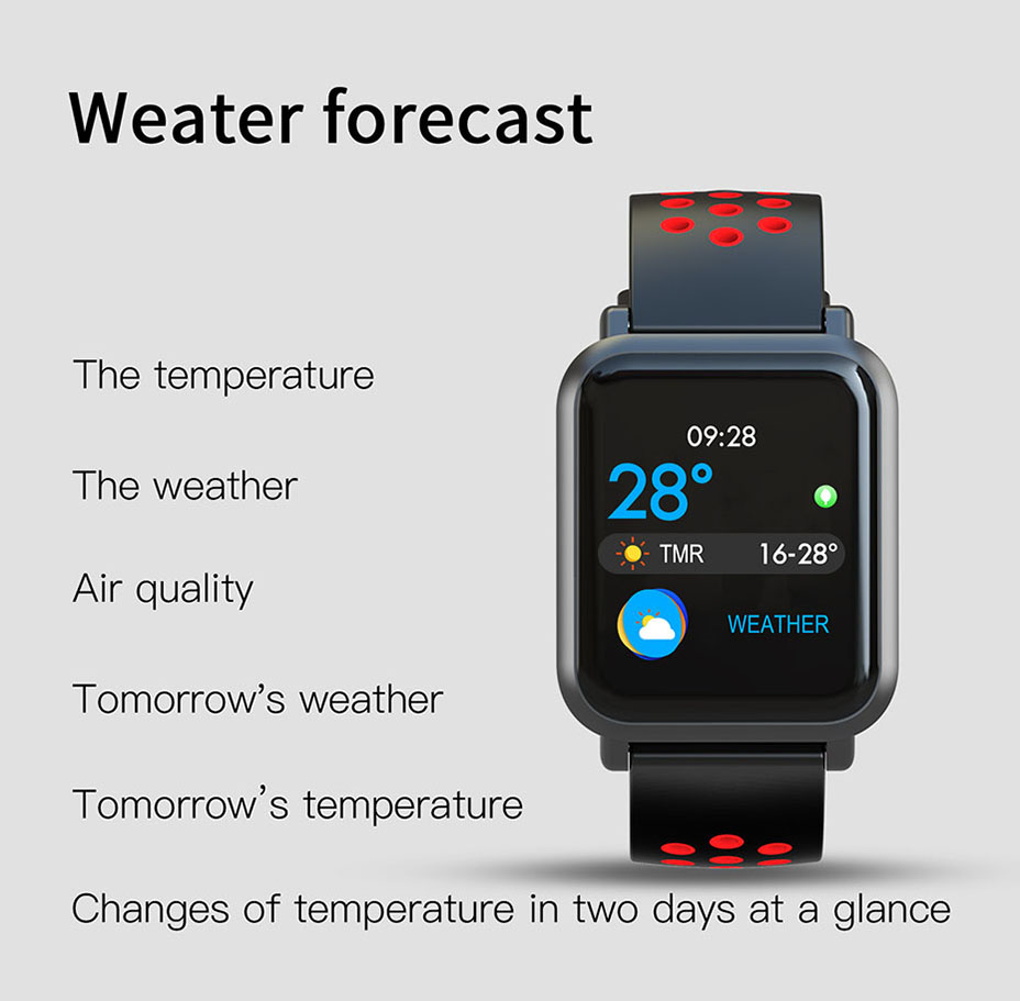 COLMI Smart Watch Men Tempered glass Fitness Tracker Blood pressure IP68 Waterproof Activity Tracker Women Smartwatch 16