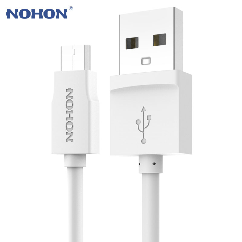 Original NOHON Micro USB Cable Fast Charging For Samsung Xiaomi Meizu Nokia LG Sony Lenovo Android Phones MP3 Data Sync Cable(China)