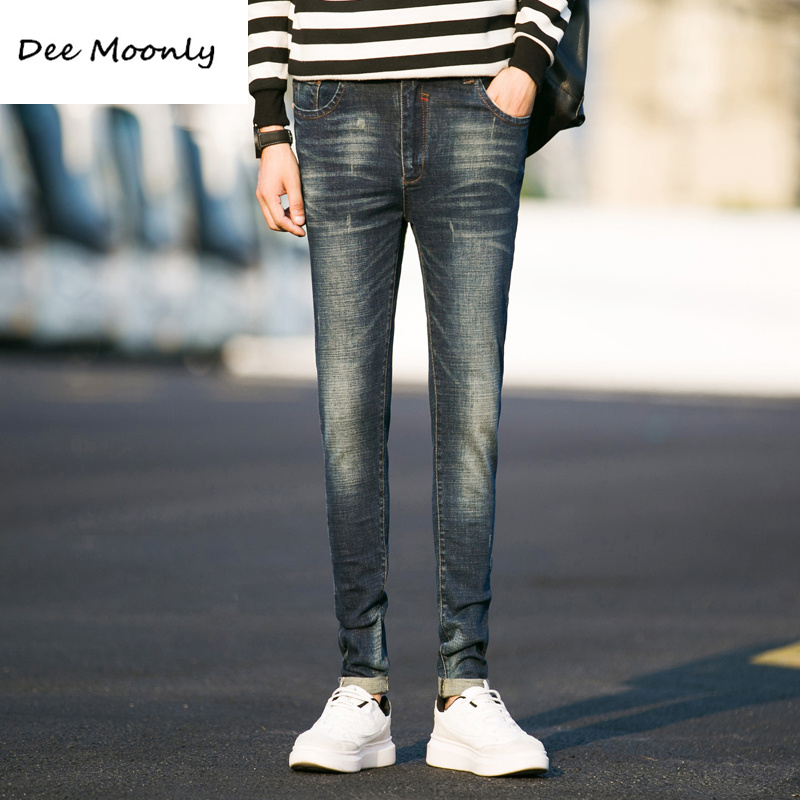 DEE MOONLY 2017 Men Brand Jeans Male Casual Straight Denim Mens Jeans Slim denim overall Wholesale Brand Jeans Biker jeansОдежда и ак�е��уары<br><br><br>Aliexpress