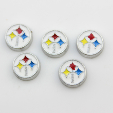 20 Pcs Enamel Pittsburgh Steelers Charms American Football Team Locket Charms For Glass Living Memory Locket