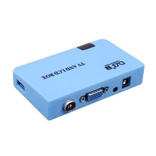 Digital DVB-T DVBT TV Box LCD & CRT Box Tuner Free View Recorder Receiver