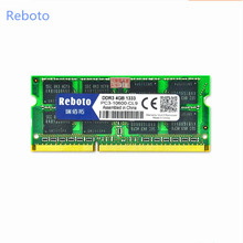 Brand New Sealed Reboto DDR3 4 GB 1333/PC3 10600 S Laptop Memoria RAM compatible con toda la placa madre/Envío Libre!!!