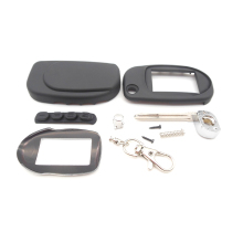 New arrival case for Scher-Khan Magicar 7 8 9 10  uncut blade fob case cover M7 M9 folding car flip remote +Keychain glass