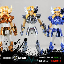 NEW ARRIVAL GREAT TOYS GreatToys GT EX Saint Seiya Cygnus Hyoga V3 Myth Cloth Action Figure OCE & Gold Ver.