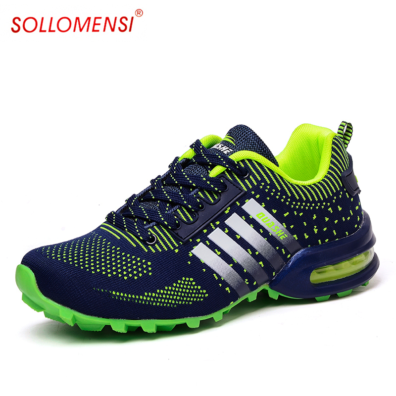 Hot Style 2017 Men Running Shoes Ultra-light Athletic Sport Male Shoe Breathable Mesh Skidproof Outdoor Sneakers Zapatos Hombre<br><br>Aliexpress