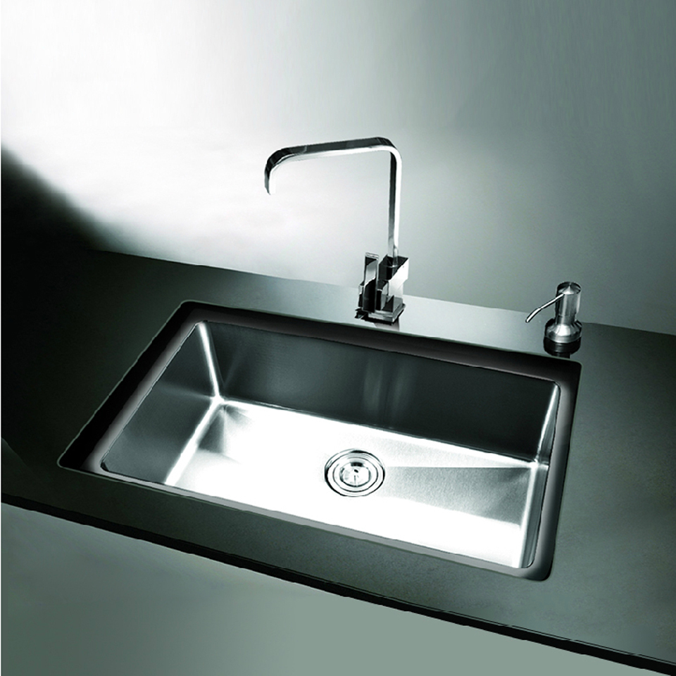304 Stainless Steel Kitchen Sink Single Holes Under Mount Surface Brushed  Cheap Good Quality Home Design Ideas