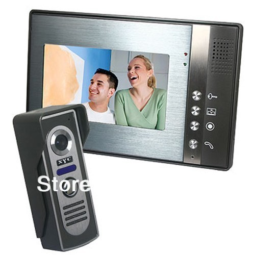 7 Color Video Door Phone Doorbell Video Intercom Doorphone IR Night Vision Camera Doorbell Kit for Apartment Security<br><br>Aliexpress