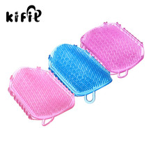 KIFIT 1PC Body Anti Cellulite Massager Exfoliator Clean Brush Slimming Scrub Gloves Bath Brush For Peeling Body Bath Shower(China)