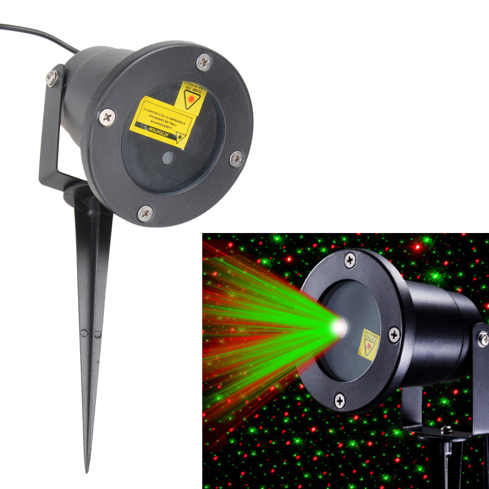 Outdoor Waterproof Light Landscape Garden Projector Moving Laser Stage Light Party Lamp Disco for Home Decoration Lighting Lamps<br>