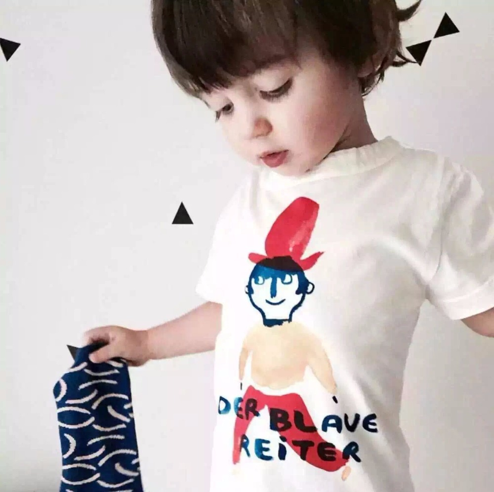 Bobo Choses Baby Kids Clothes Boys Top T Shirts Tshirt Flash Child Pattern Clown In Cloth Girls costume For Kid Cotton Cicshop<br><br>Aliexpress