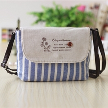 Women Coin Purses Brand Cute Striped Mini Party Messenger Crossbody Bags for Women Small Bags over the Shoulder Bolso Mujer(China)