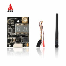 AKK K33 5.8G Double Screen Display 600mW FPV Audio Video Transmitter for 2000M Range(United States)