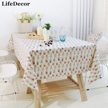 Japanese-style garden flowers linen table cloth tablecloths table Bugaboo roof garden can be custom made to order