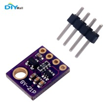 DIYmall Atmospheric Humidity Temperature Sensor Breakout Barometric Pressure BMP280 SI7021 for Arduino GY-21P By DIY FZ2536