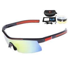 5 Lens Polarized Cycling Glasses Road Mountain Bike Bicycle Sunglasses Gafas Cicismo Goggles Cycling Eyewear CE Certification(China)