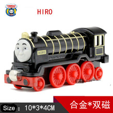 Thomas& Friends- Black Hiro Locomotive Diecast Metal Train Toys Toy Magnetic Models Toys For Kids Children Xmas Gifts(China)