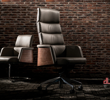 Hot sell New DHL / EMS shipping Genuine Leather boss chair Cool computer chair office chair(China)
