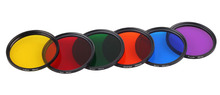 For Canon EF 50mm f/1.4 USM/for Nikon AF-S 50mm f/1.8G 58mm Camera Filter Gradient Full Red Orange Yellow Blue Purple ND2 4 8