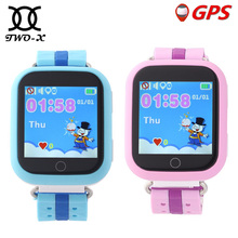 TWOX GPS Smart Watch Q750 Q100 gw200s Baby Smart Watch With Touch Screen SOS Call Location Device Tracker for Kid Safe PK Q50(China)