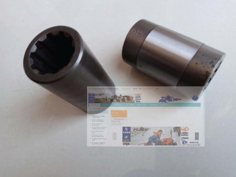 YTO 904 tractor, set of drive shaft sleeve (front and intermediate) , part number:4997312SZ/1.38.544 &amp; 4997313SZ/1.38545<br>