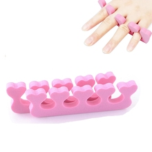 2pcs Nail Art Toe Separators Orthedontic Straightening Finger Feet Care Separator Nail Tools(China)