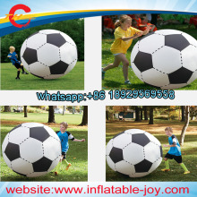 2pcs/lot,100-200cm giant kids Inflatable Soccer football balloon,adults Outdoor Garden Party grass Beach ball Toys