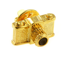 Beour Brand Camera Cufflinks For Mens Fashion Gold Cufflink Shirt Business Wedding Gifts(China)